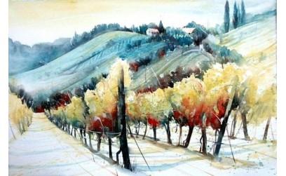 Come il vino all'arte di Matteo Carlucci