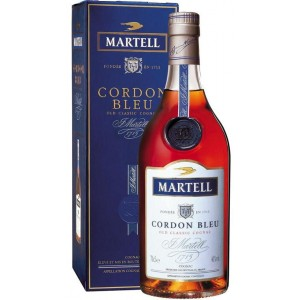 Cognac Martell Cordon Bleu Cl.70 su www.maccaninodrink.com