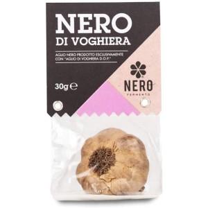 TESTA di AGLIO NERO DI VOGHIERA, 100% ITALIANO 30 gr  x 3 CONFEZIONI