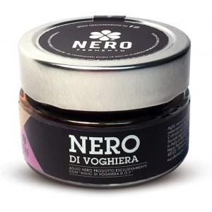 AGLIO NERO DI VOGHIERA SBUCCIATO 100 ITALIANO VASETTO 50 GR. su www.maccaninodrink.com