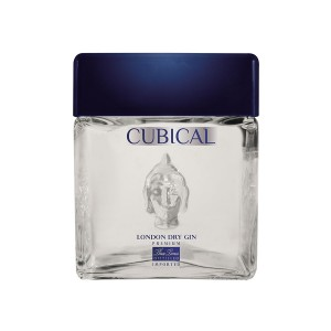 GIN CUBICAL PREMIUM LONDON DRY 40% CL.70 BOTT.TRASP.