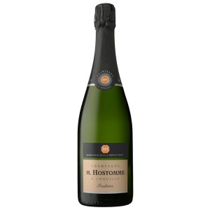 CHAMPAGNE HOSTOMME A CHOUILLY TRADITION BRUT CL.75