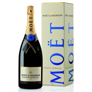 CHAMPAGNE MOET CHANDON mgm RES.IMPERIAL BRUT LT.1,5 GB