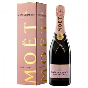 CHAMPAGNE MOET CHANDON IMPERIAL ROSE' CL.75 GB