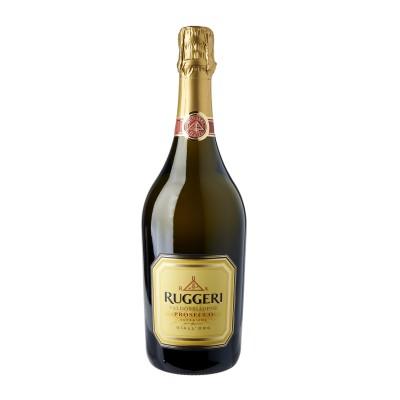 PROSECCO RUGGERI GIALL'ORO DOCG VALD.EXTRA DRY CL.75