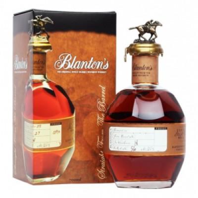 WHISKY BLANTON'S GOLD 51,5% CL.70  -GIFTBOX-