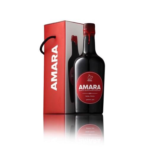AMARO ROSSA AMARA D'ARANCIA ROSSA 30% CL.50 -GIFTBOX-