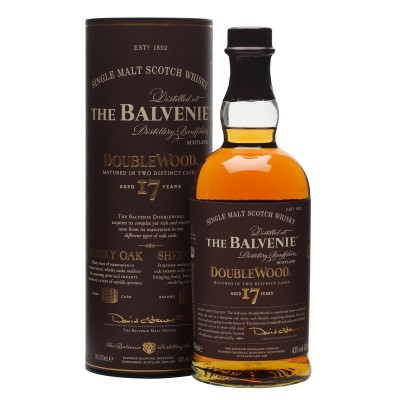 WHISKY BALVENIE 17Y DOUBLEWOOD 43% CL.70