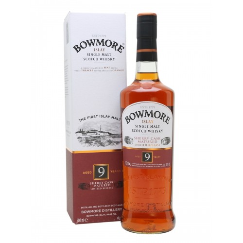 WHISKY BOWMORE 9Y SHERRY CASK MATURED 40% CL.70