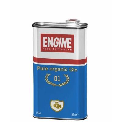 GIN ENGINE PURE ORGANIC 42% CL.50 LATTINA