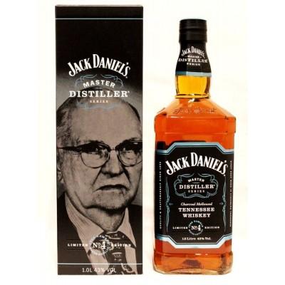 WHISKY JACK DANIEL'S OLD N.4 MASTER DISTILLER 43% LT.1 -AST-