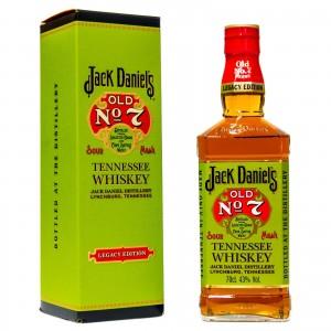 WHISKY JACK DANIEL'S LEGACY EDIT.43% CL.70 ET.VERDE