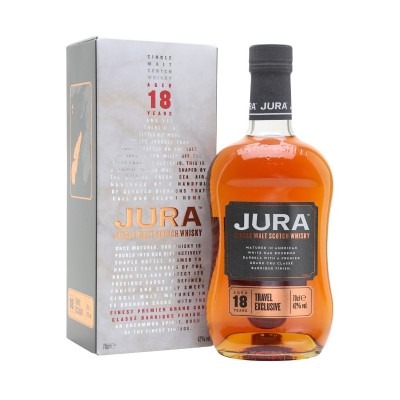 WHISKY ISLE OF JURA 18 ANNI 42% CL.70 GIFTBOX