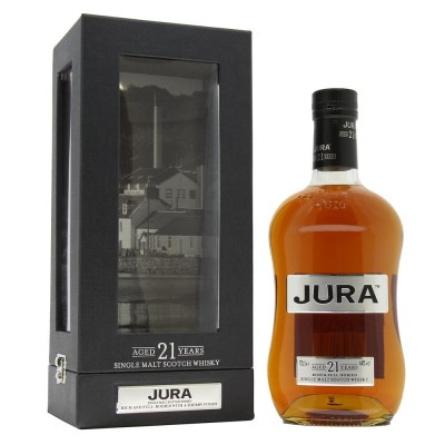 WHISKY ISLE OF JURA 21 ANNI 44% CL.70 GIFTBOX
