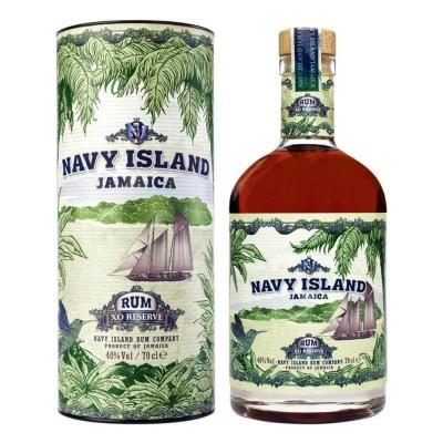 RHUM NAVY ISLAND JAMAICA XO RESERVE 40% CL.70 GIFTBOX