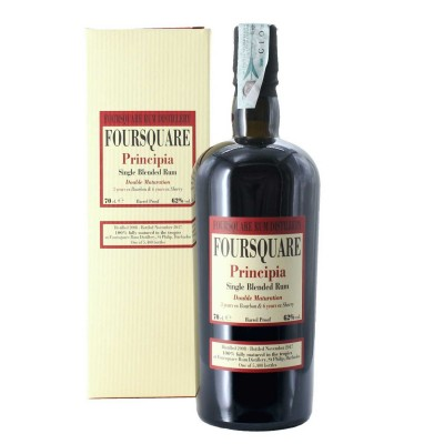 RHUM PRINCIPIA FOURSQUARE SINGLE BLENDED CL.70