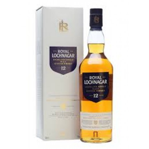 WHISKY ROYAL LOCHNAGAR 12Y 40% CL.70 -GIFTBOX-