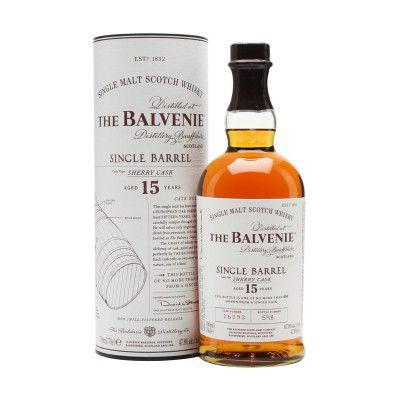 WHISKY BALVENIE 15Y SINGLE BARREL SHERRY C.47,8% CL.70