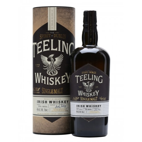 WHISKY TEELING IRISH SINGLE MALT 46% CL.70 ASTUCCIO