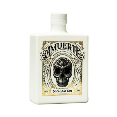 GIN AMUERTE WHITE EDITION COCA LEAF 43%  CL.70