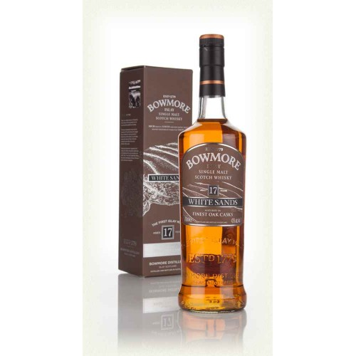WHISKY BOWMORE 17Y WHITE SANDS 43% CL.70 ASTUCCIO