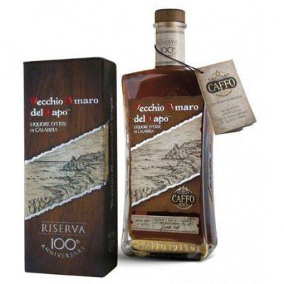 AMARO DEL CAPO CAFFO RISERVA 100*ANNIV. 37,5 su www.maccaninodrink.com