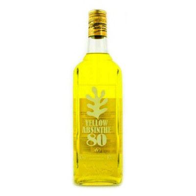 """ABSINTHE NADAL """"80"""" YELLOW 80% CL.70"""