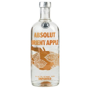VODKA ABSOLUT ORIENT APPLE LT.1