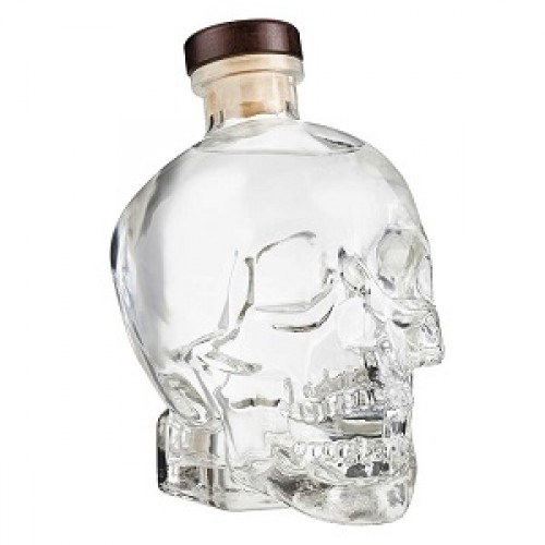 VODKA CRYSTAL HEAD 40% CL.70