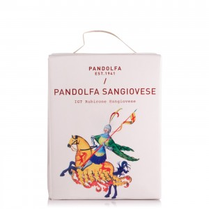 TEN.PANDOLFA ROSSO SANGIOVESE BAG BOX LT.10 su www.maccaninodrink.com