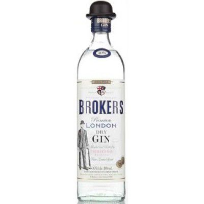 GIN BROKER'S LONDON DRY 40% CL.70