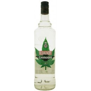 VODKA RUSHKINOFF CANNABIS 50% LT.1