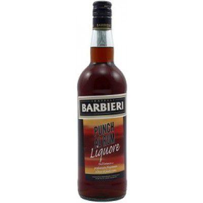 BARBIERI PUNCH AL RHUM 35% LT.1 LIQUORE