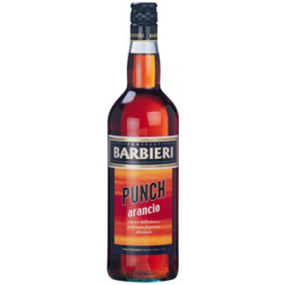 BARBIERI PUNCH ALL'ARANCIO 35% LT.1 LIQUORE