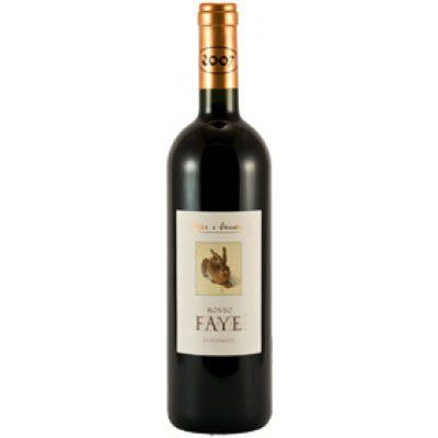 POJER & SANDRI ROSSO FAYE IGT 2006/09 CL.75 VINO