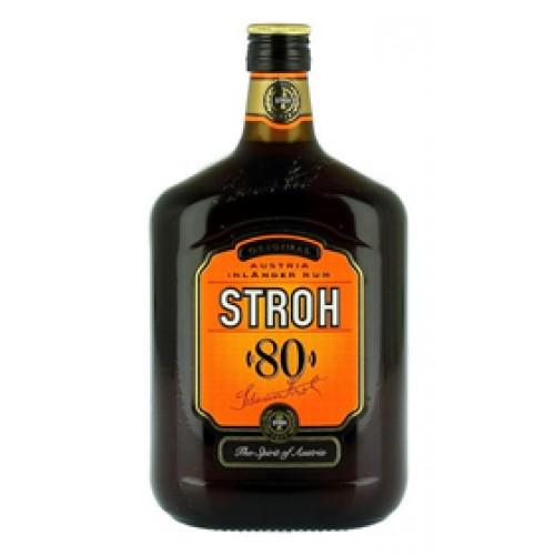Rhum Stroh 80